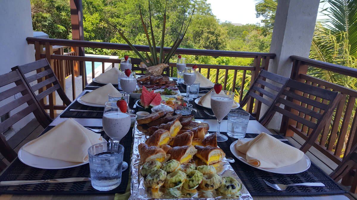 Wouldn't you love to wake up to this breakfast spread?