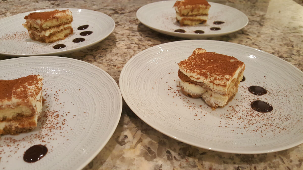 Tiramisu, courtesy of Taste of the Islands