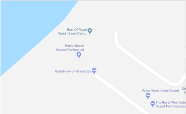 Grande Court Access Point to Grace Bay Beach