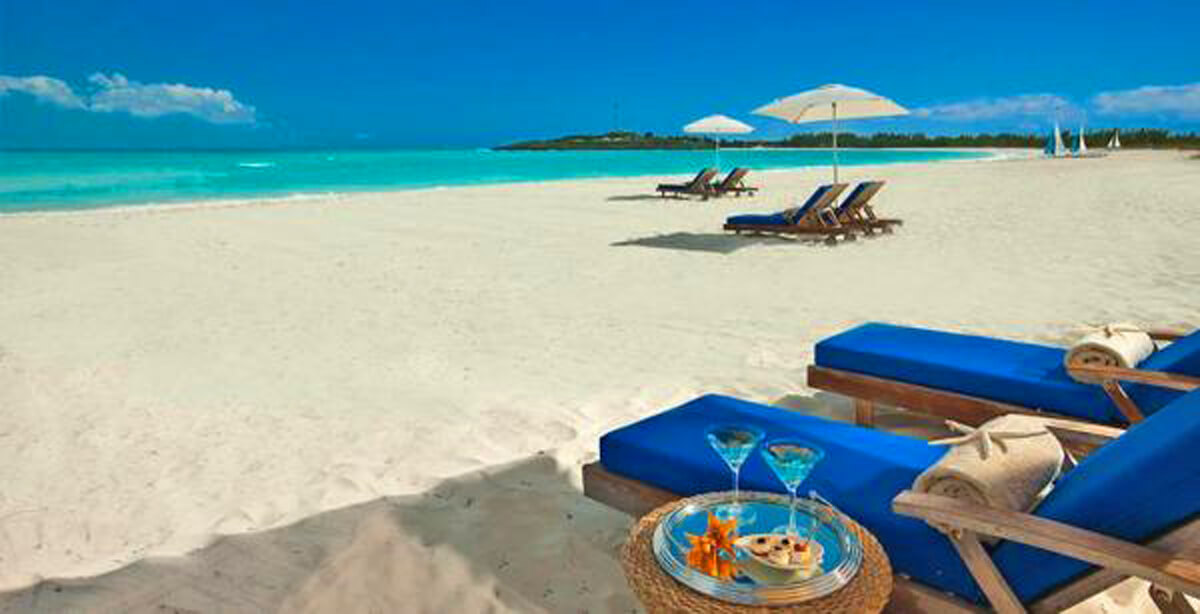 Sandals Emerald Bay, Great Exuma, Bahamas beach