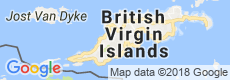 British Virgin Islands Luxury Villas, Map View
