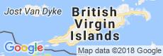 British Virgin Islands Luxury Villas, Map View