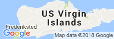 St. Croix, USVI Luxury Villas, Map View