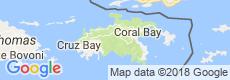 St. John Luxury Villas, Map View