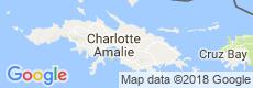 St. Thomas, USVI Luxury Villas, Map View