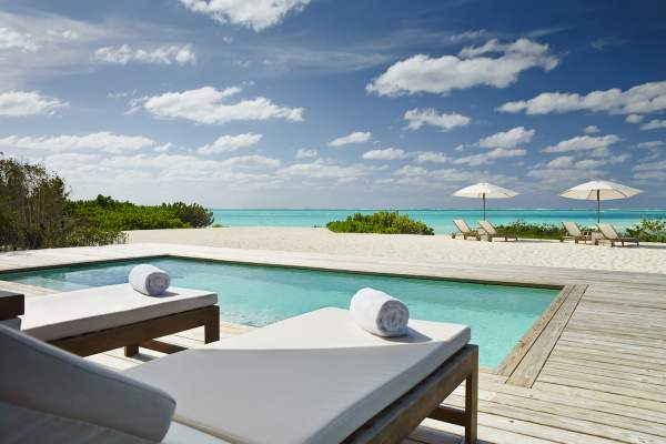 The Two Bedroom Beach House at Como Parrot Cay