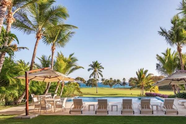 Cacique 2 is located in Casa De Campo with ocean views just over the golf course