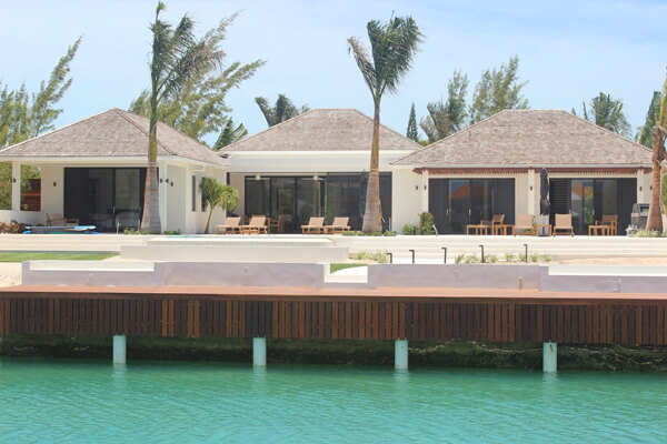 Cassis Villa is a canal front villa in the Leeward community