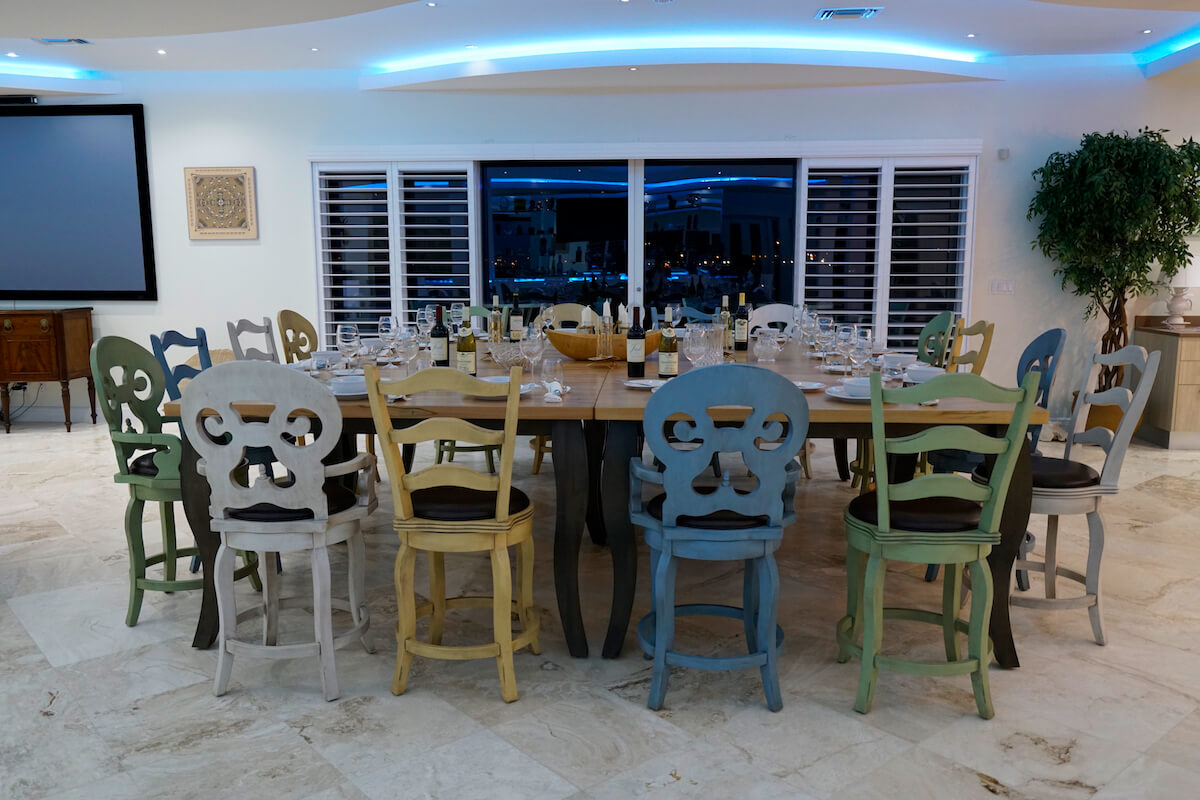 Dining Table Seats Sixteen