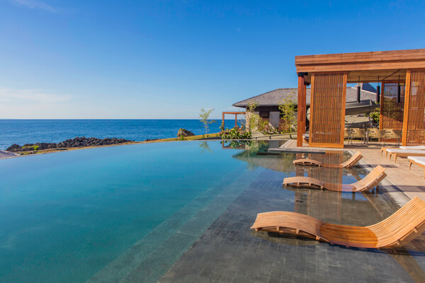 Ani Villa Estate in The Dominican Republic has an amazing infinity edge pool with Caribbean views