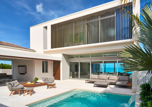 The five bedroom villa at Wymara Villas