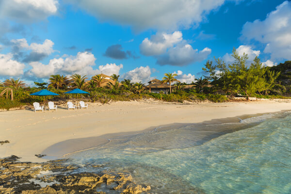 Choini Cay is an exclusive private island in the Bahamas