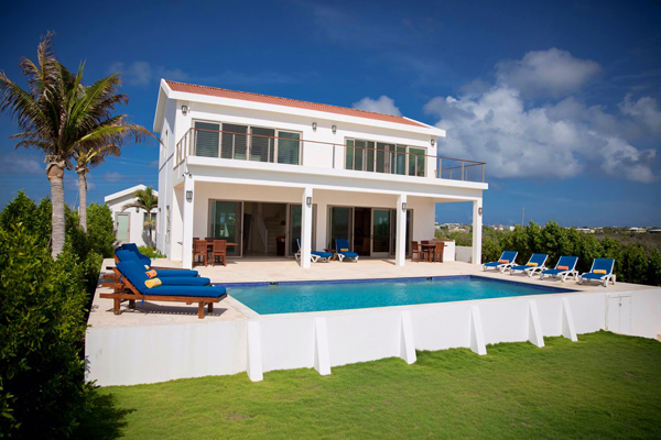 Water\'s Edge Villa is located on Blowing Point