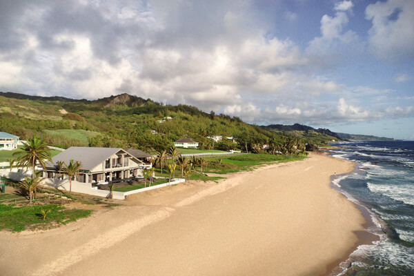 Zazen Villa on Cattlewash Beach