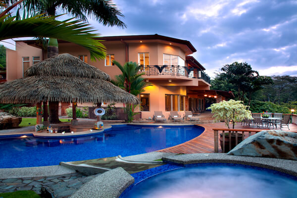 Casa Oasis Villa is located above Los Sueños popular Eco Golf Course