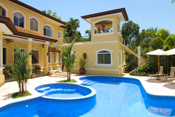 Casa de Suenos is located within the gated Los Suenos Resort community