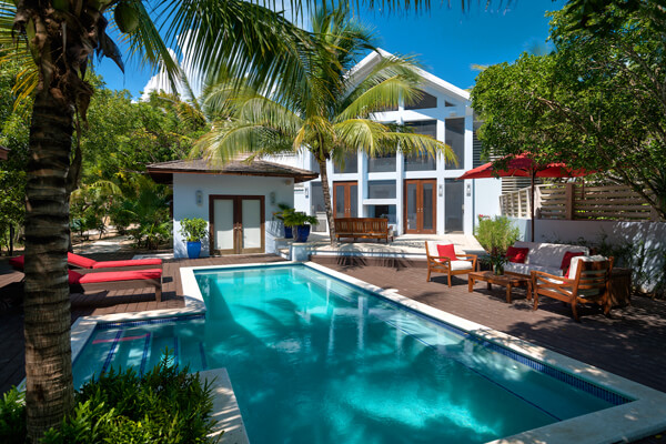 Tree House Villa is located on Grace Bay
