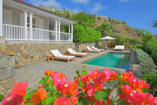 Gustavia Views Villa lives up to its name and more - also boasting a private pool