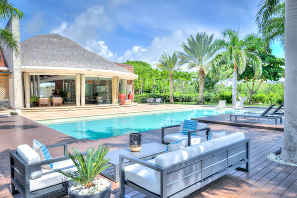 Corales 60 Villa is located on the Golf Course in the Punta Cana Resort & Club