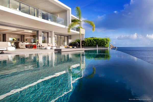 Amazing Caribbean views from Axel Rocks Villa