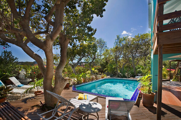 Casa Bougainvillea Villa has a beautiful private pool