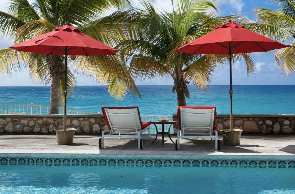 Baie Longue Beach House, St. Martin villa