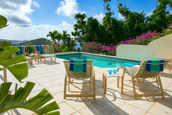 La Virage is located near the Battery Gut area and has amazing Caribbean views