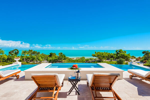Shambhala Villa is located on a beautiful stretch of Long bay Beach