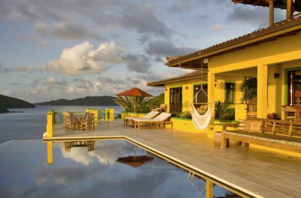 Golden Pavilion, British Virgin Islands villa