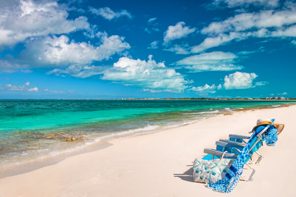 Nutmeg Cottage is just a short walk to the beautiful white sands of Grace Bay Beach at Smith's Reef