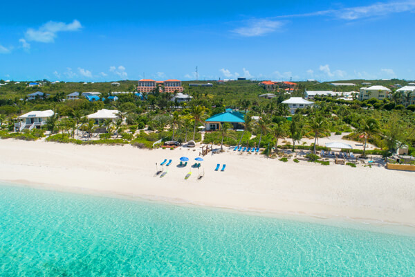 Conch Beach Villa is located on the beautiful Grace Bay Beach