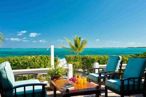 Reef Beach House is located near Smith Reef along Grace Bay