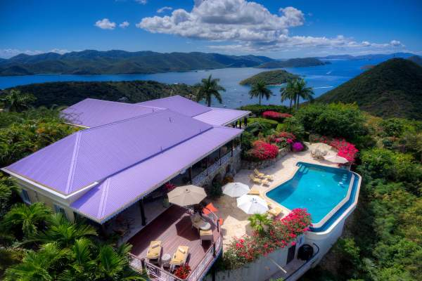 St. Bernard's Hill House, British Virgin Islands villa
