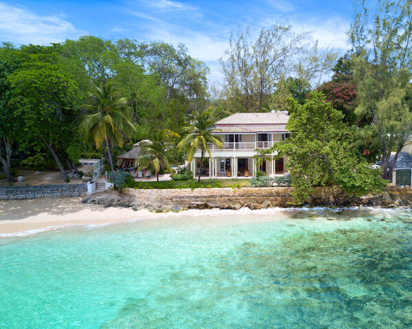 Hemingway House is tucked in a cove between Gibbs Beach and Mullins Beach