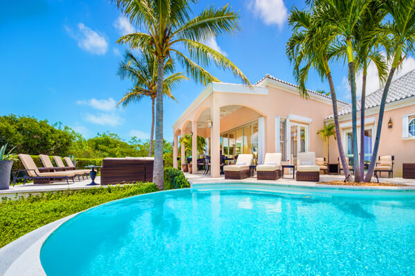 Sea Breeze Villa has a beautiful private pool