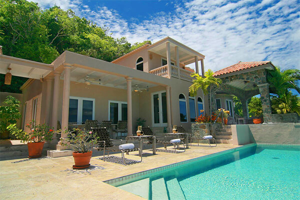 Villa Lantano is located in the Peter Bay Estates