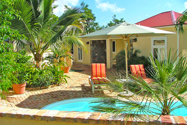 Caneel Trailside Villa is located right next to the Virgin Islands National Park