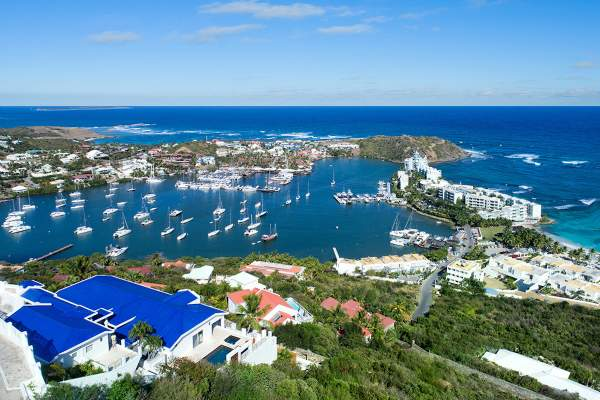 Amazing views of the harbor from Paradiso Villa