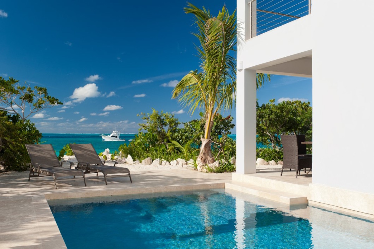 Water Edge Villa on Turks and Caicos