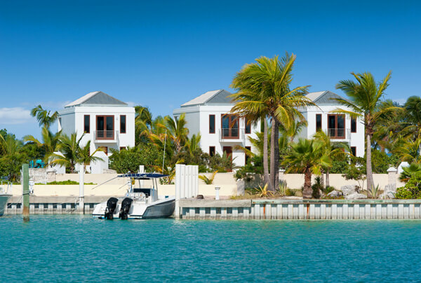 Ocean Edge is nestled on the beach with it\'s sister villas
