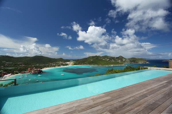 Amazing views from the pool and deck at Eden View Villa