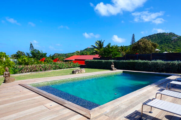 A beautiful private pool at MAK Villa