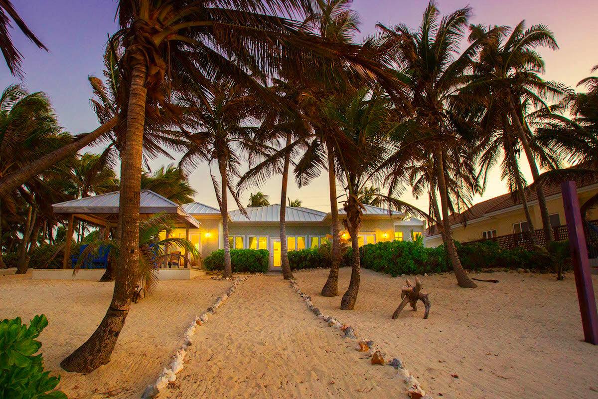Coconut Beach Villa Is Right On The Near Rum Point
