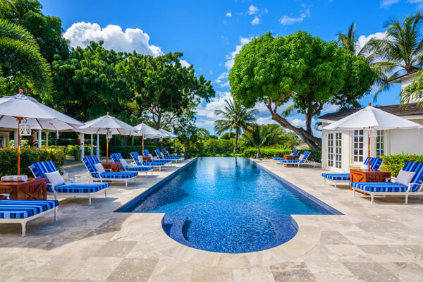 Casablanca Villa is located in the Sandy Lane area not far from the beach