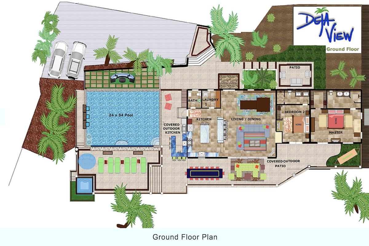 deja view - st. john villa rental | wheretostay