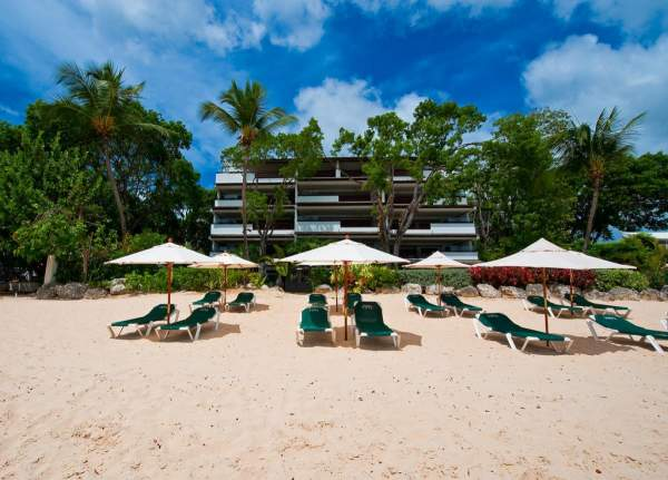 Coral Cove #7 in the Coral Cove Complex is located directly on Paynes Bay Beach
