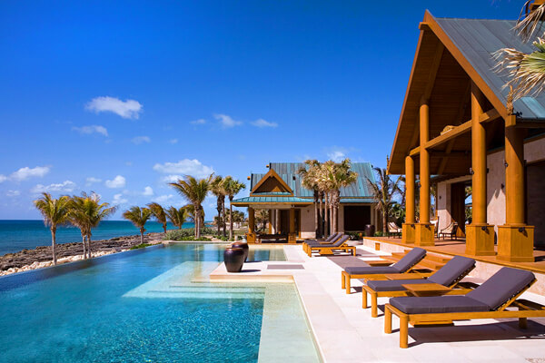 Nandana Villa in the Bahamas