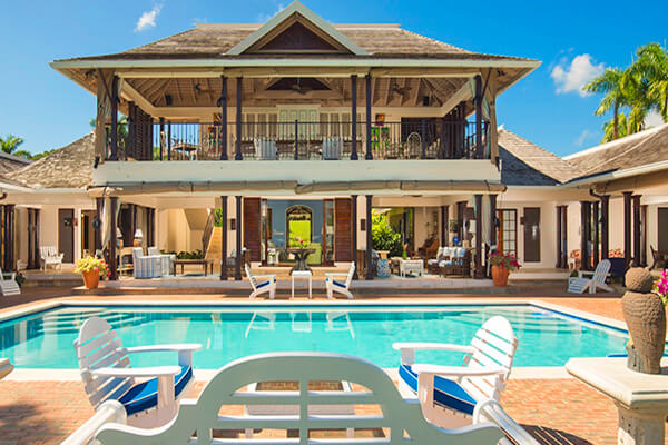 Sundance Villa at Tryall Club has a beautiful pool