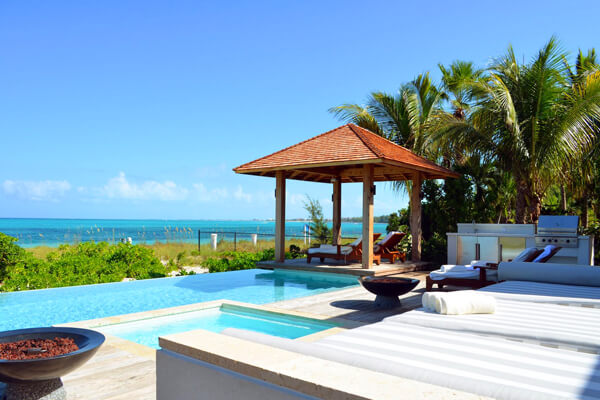 The Residences are located directly on Grace Bay Beachfront and each have private infinity pools