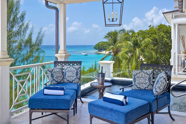 Pld Trees#301 Penthouse is a luxuriously appointed property located just steps from Paynes Bay Beach